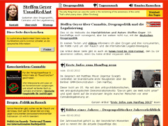 Altes Layout von UsualRedAnt.de
