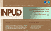 INPUD - International Network of People who Use Drugs - Screenshot