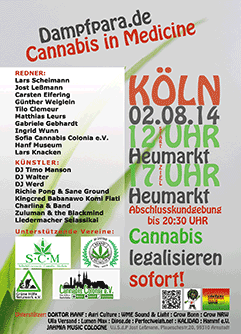 Poster der Dampfparade 2014