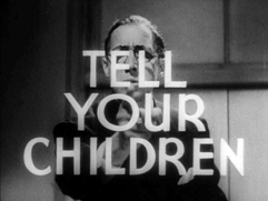 Tell your Children - Szene aus dem Film -Reefer Madness-