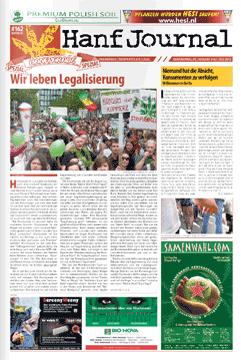 Cover der Sonderausgabe des Hanf Journals zur Hanfparade 2013