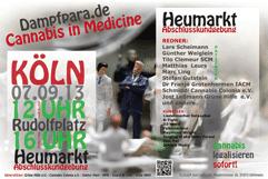 Poster der Dampfparade 2013