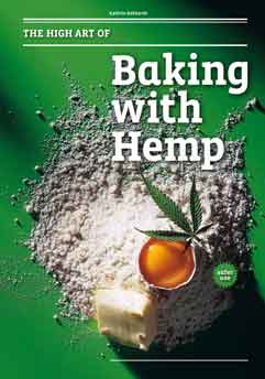 Titelblatt des Buchs -The High Art of Baking with Hemp-